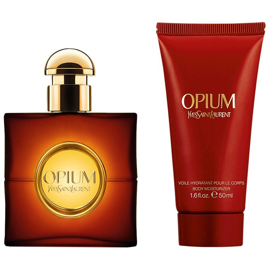 yves saint laurent opium weihnachtsset duftset online kaufen bei. Black Bedroom Furniture Sets. Home Design Ideas
