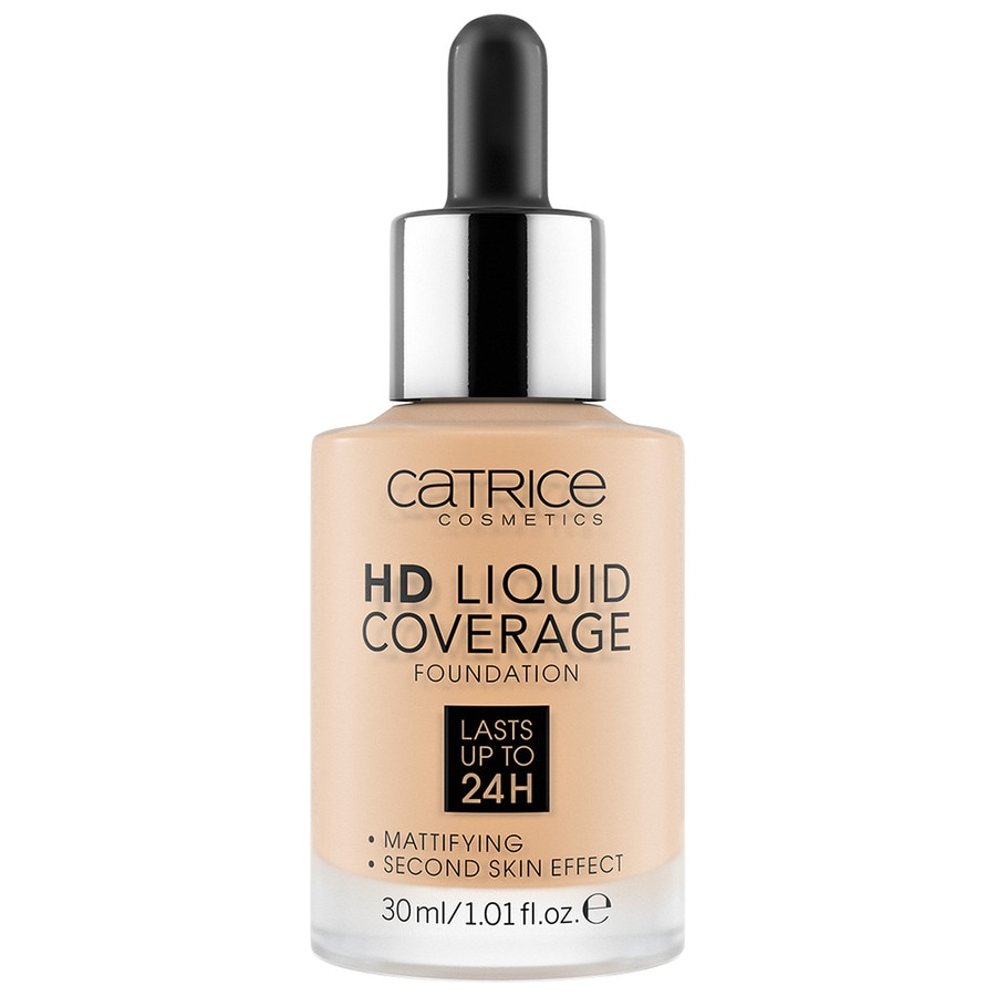 Catrice foundation hd liquid coverage foundation