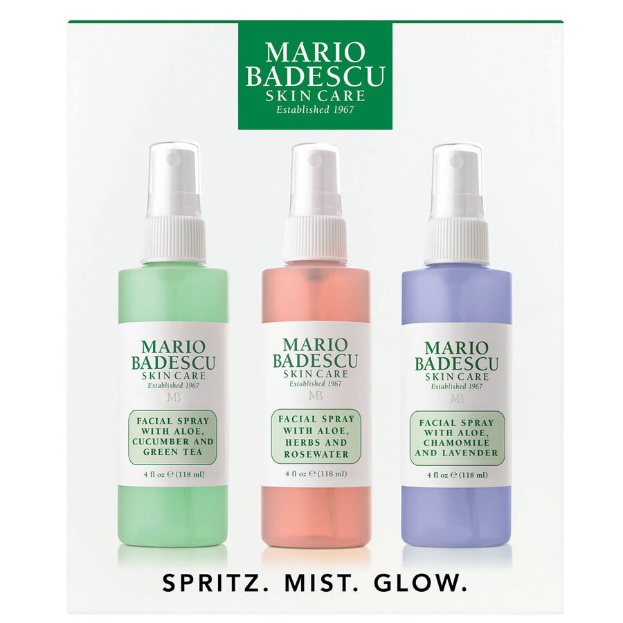Mario badescu spritz.mist.glow. set4505