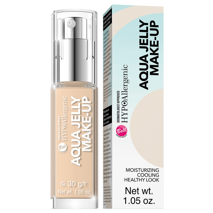 Bell hypo allergenic foundation aqua jelly make up