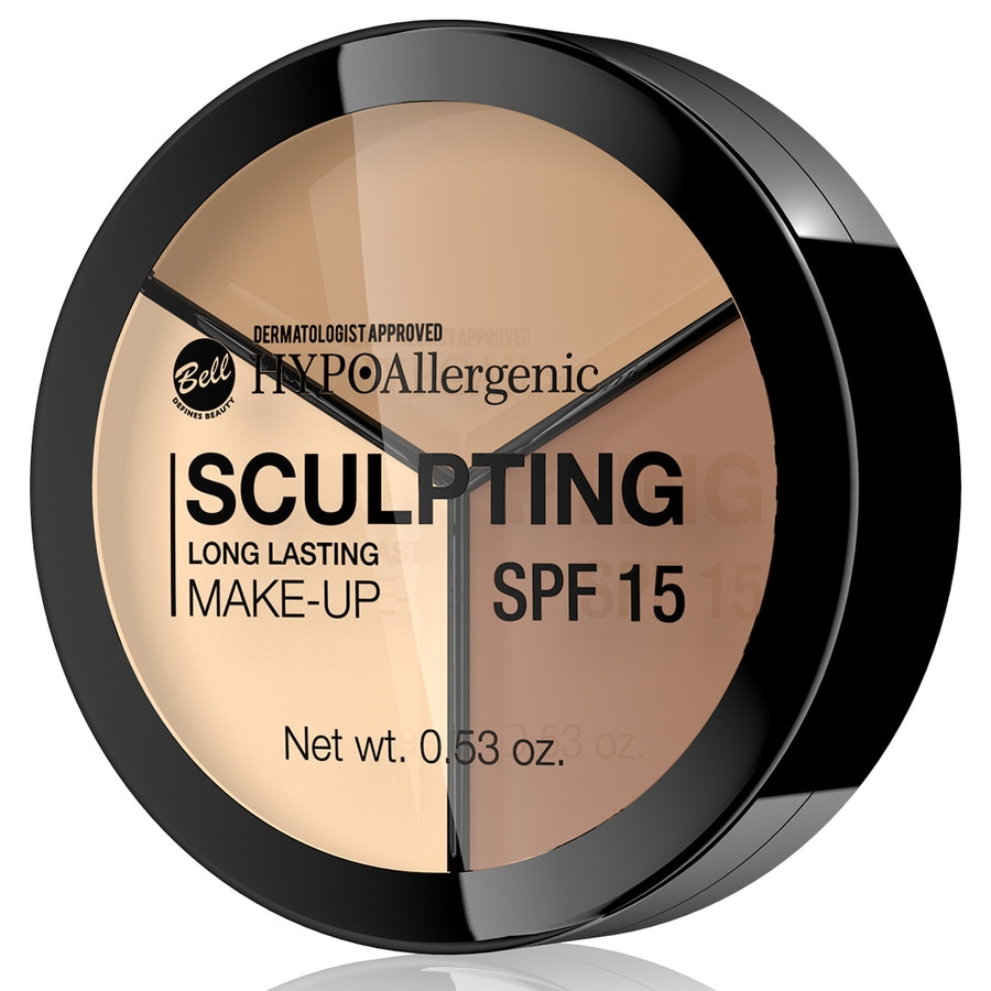 Bell hypo allergenic foundation long lasting sculpting make up