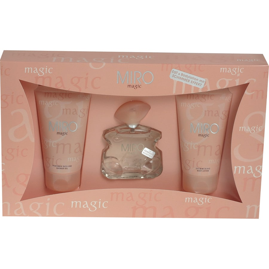 Miro Damendüfte Magic Geschenkset Body Lotion 150 ml + Eau de Parfum 75 ml + Shower Gel 150 ml 1 Stk.