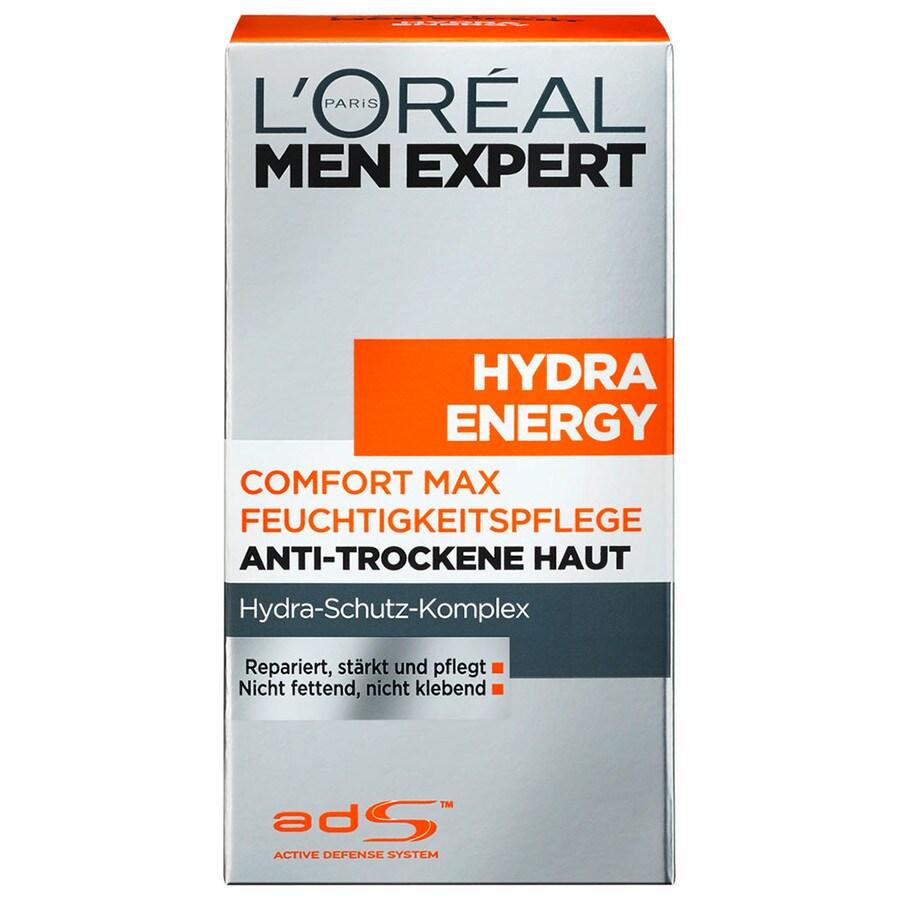 L´Oréal Paris Men Expert Men Expert Gesichtspflege Hydra Energy Comfort Max Feuchtigkeitspflege Anti-Trockene Haut 50 ml