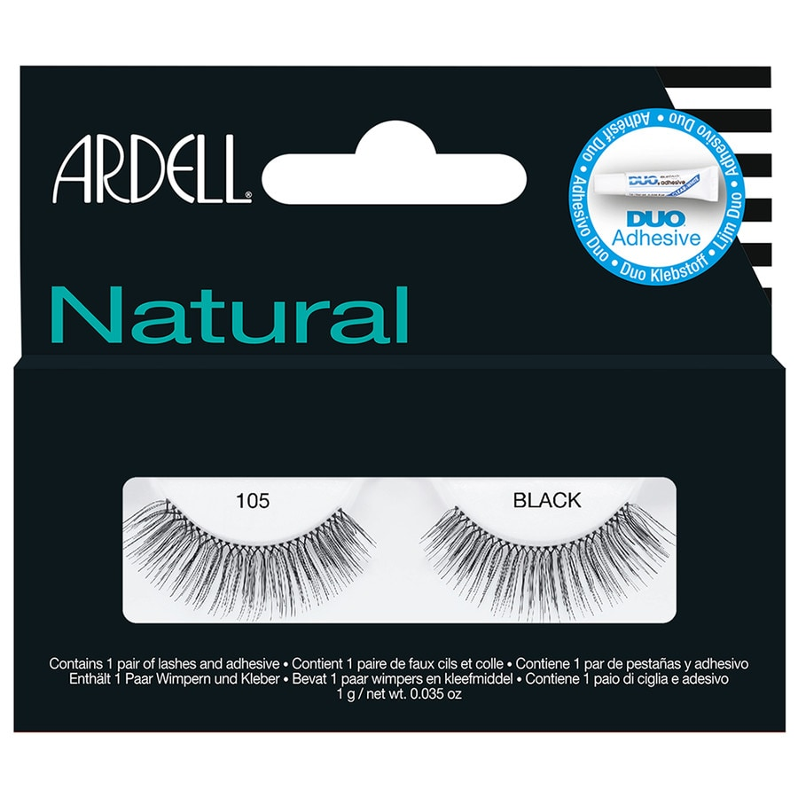 Ardell Glamour Nr. 105 - Black Wimpern