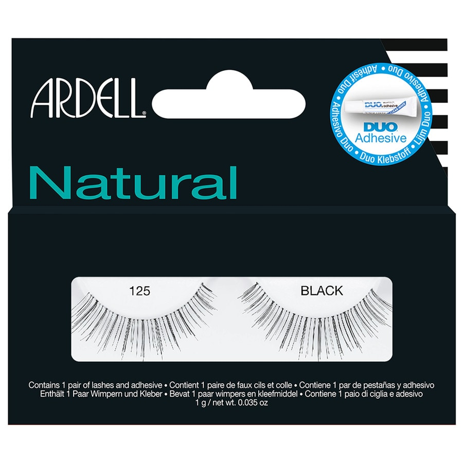 Ardell Natural Lashes Black øyenvipper 1.0 st