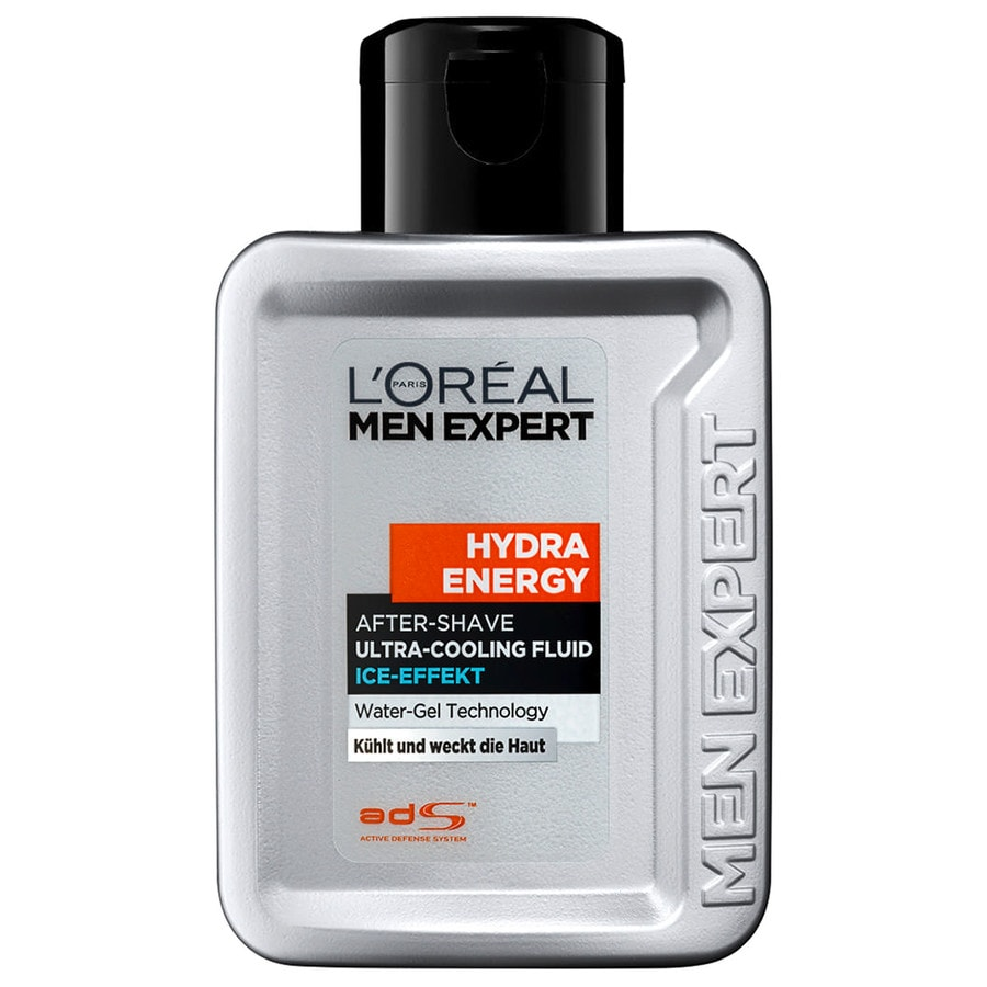 L´Oréal Paris Men Expert Men Expert Rasurpflege Hydra Energy - After Shave Ultra-Cooling Fluid Ice-Effekt 100 ml
