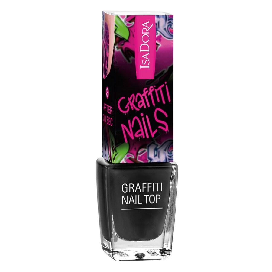 Isadora Graffiti Nails Nr. 801 - Black Tag Nagellack