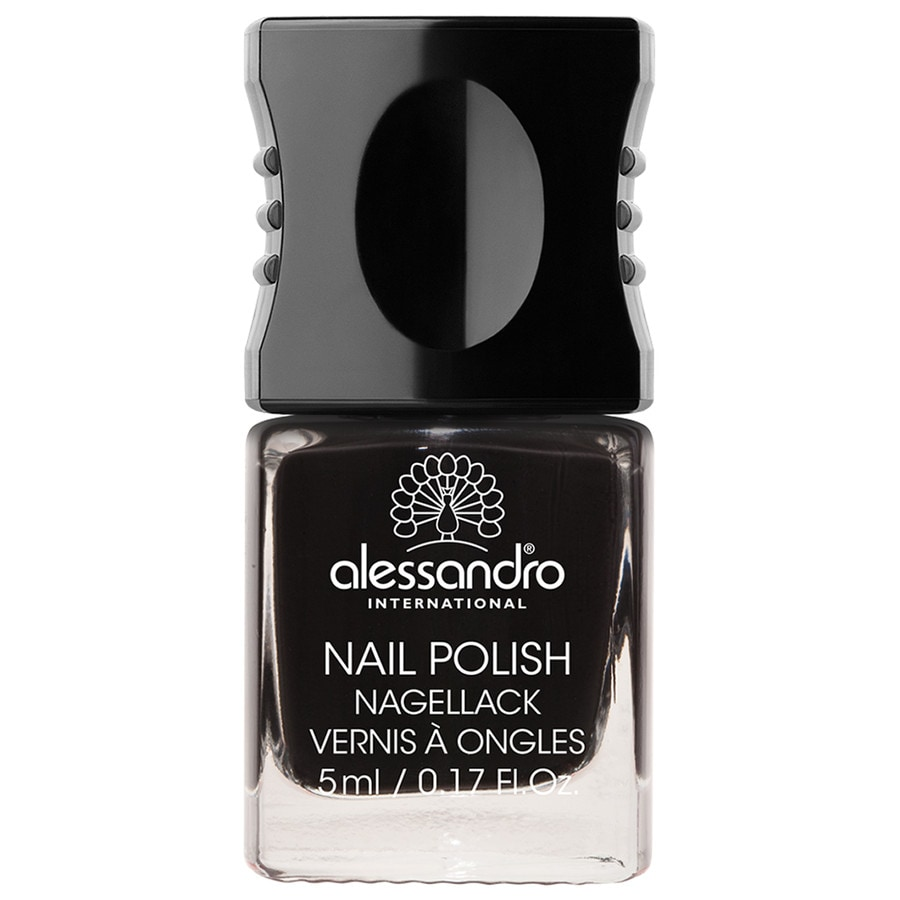 Alessandro Nail Polish Colour Explosion Nagellack Nr. 177 - Midnight Black