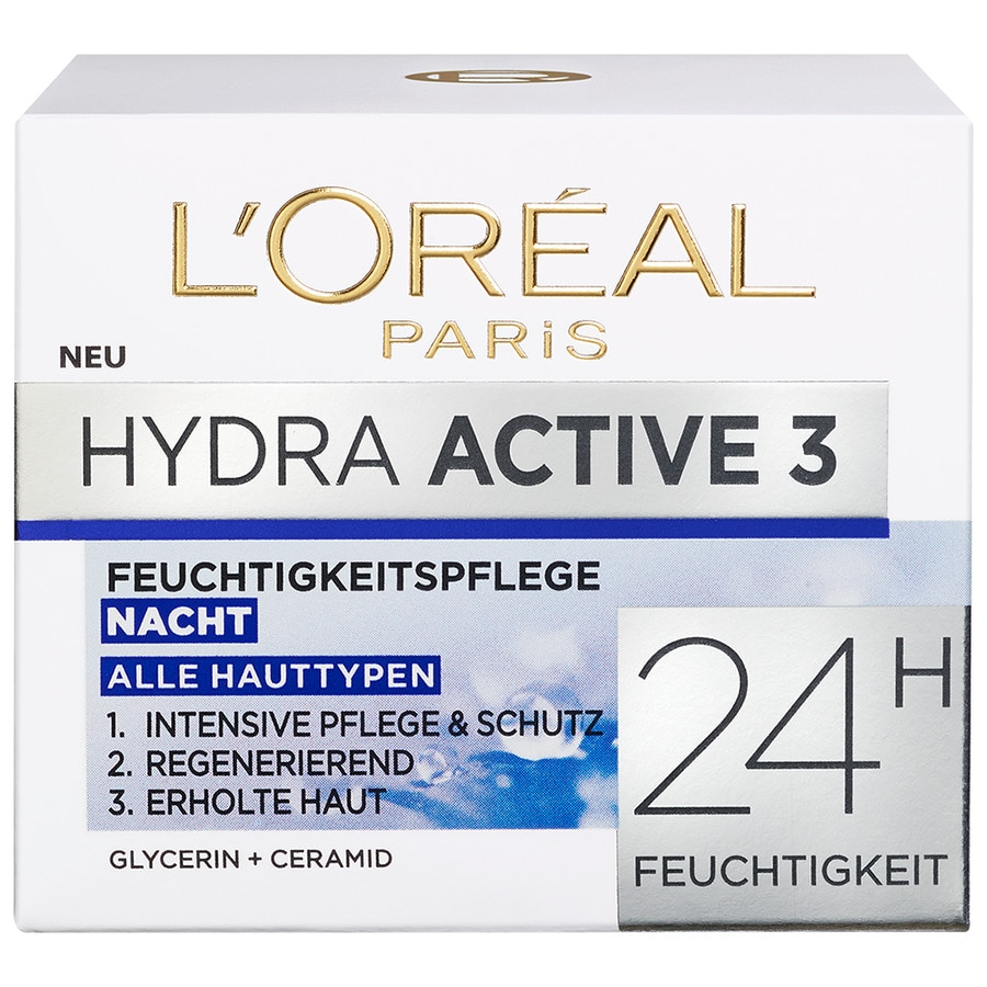 L´Oréal Paris Nacht - Intensive Feuchtigkeitspflege Gesichtscreme 50 ml