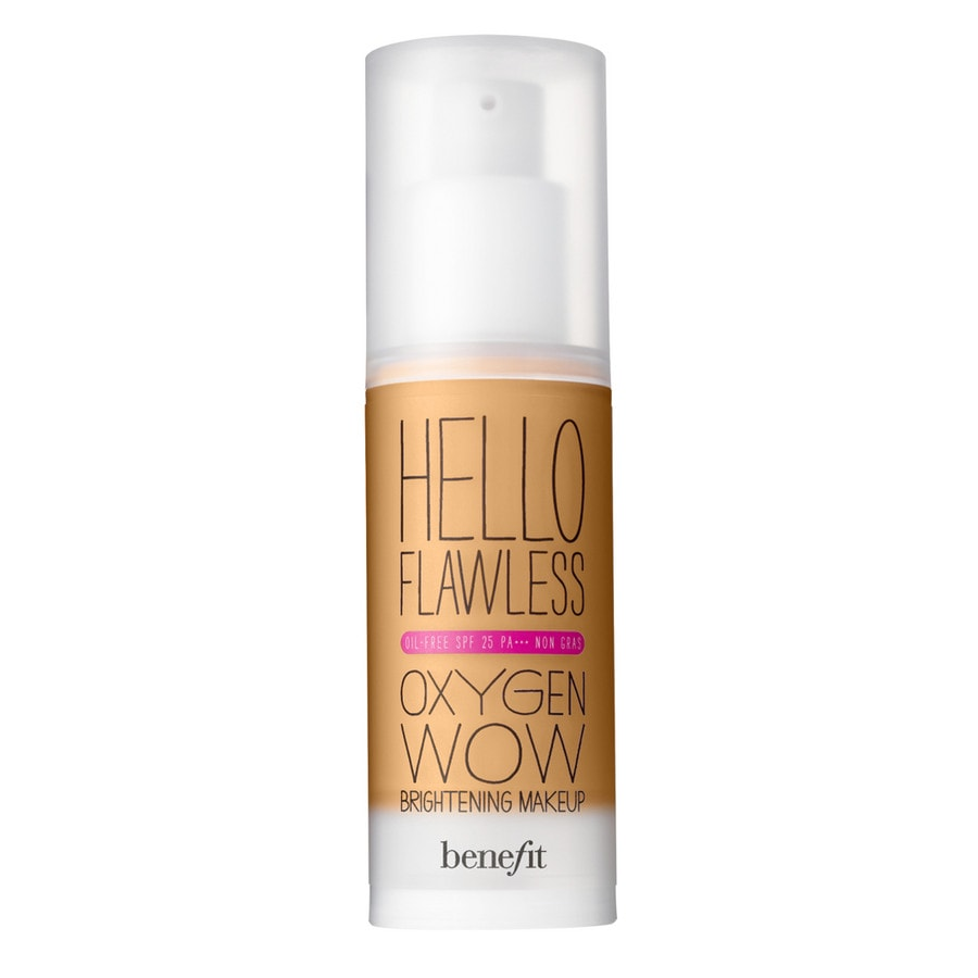 Benefit Teint Hello Flawless Oxygen Wow! (Farbe: ´´Warm Me Up´´ – Toasted Beige [WARM ME UP], 30 ml)
