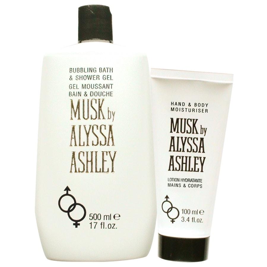 Alyssa Ashley Unisexdüfte Musk Geschenkset Shower Gel 500 ml + Hand & Body Moisturiser 100 ml 1 Stk.