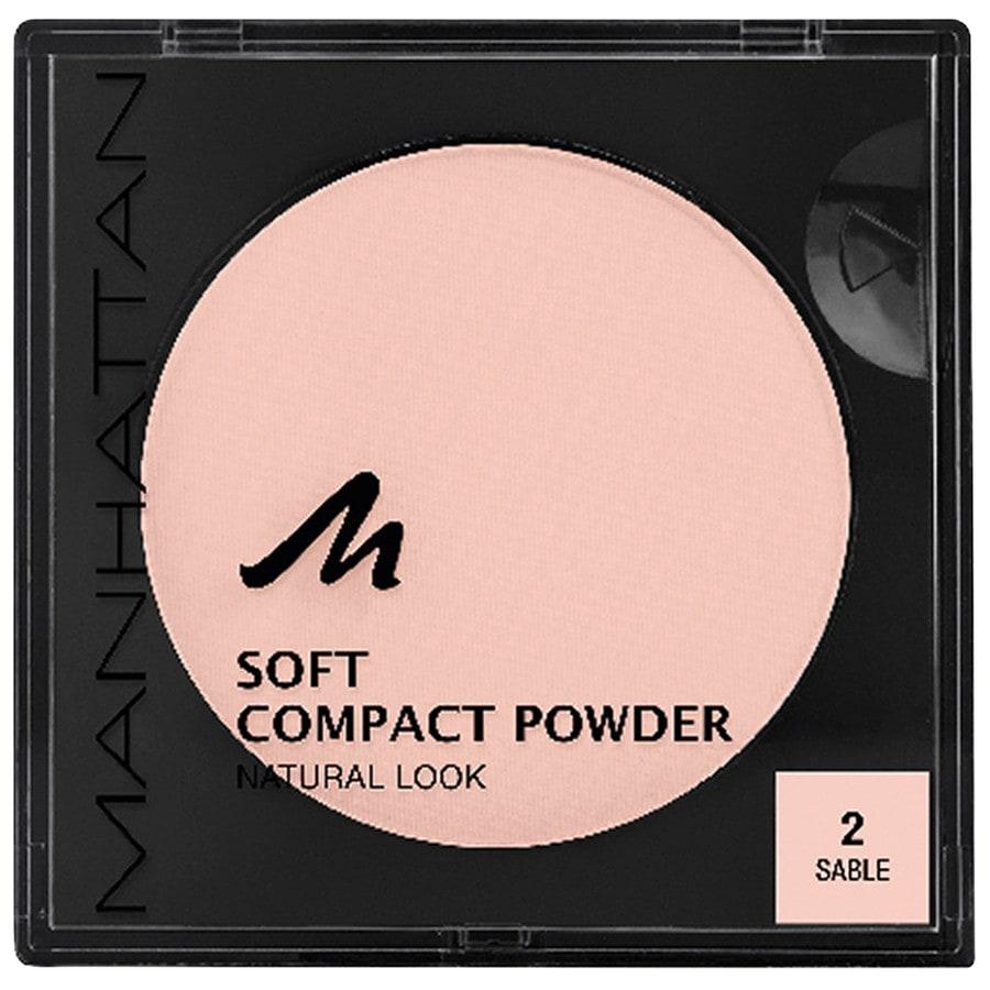 Manhattan Make-up Gesicht Soft Compact Powder Nr. 2 1 Stk.