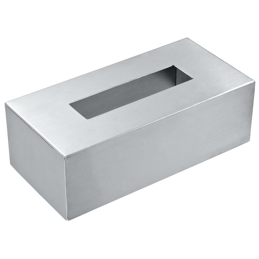 wenko edelstahlbox f r kosmetikt cher bad accessoires. Black Bedroom Furniture Sets. Home Design Ideas