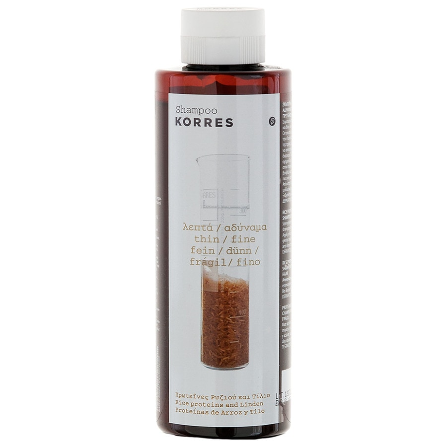 Korres Pflege Haarpflege Shampoo Rice Proteins & Linden - für feines, empfindliches Haar 250 ml