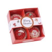 Badefee BadePralinen Geschenkset 4er Merry Christmas