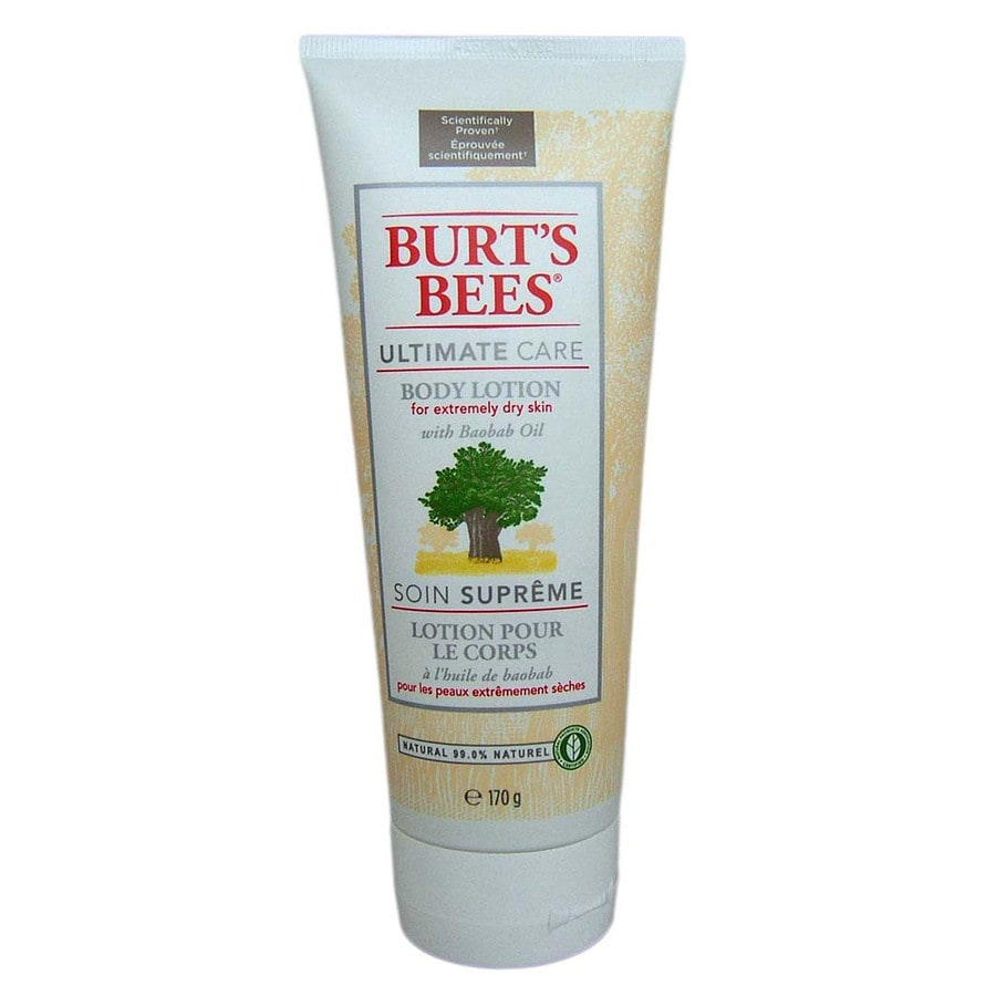 burt 39 s bees ultimate care bodylotion with baobab oil. Black Bedroom Furniture Sets. Home Design Ideas