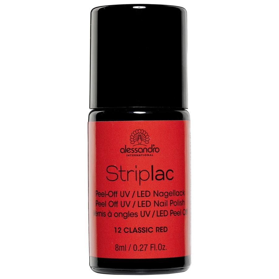 Alessandro Make-up Striplac Striplac Nail Polish Nr. 12 Classic Red 8 ml