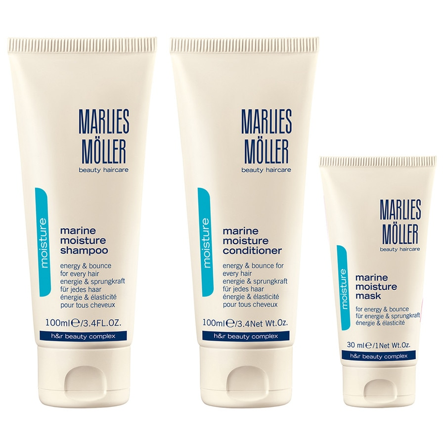 Marlies Möller Essential - Cleansing MARINE MOISTURE KENNENLERN-SET