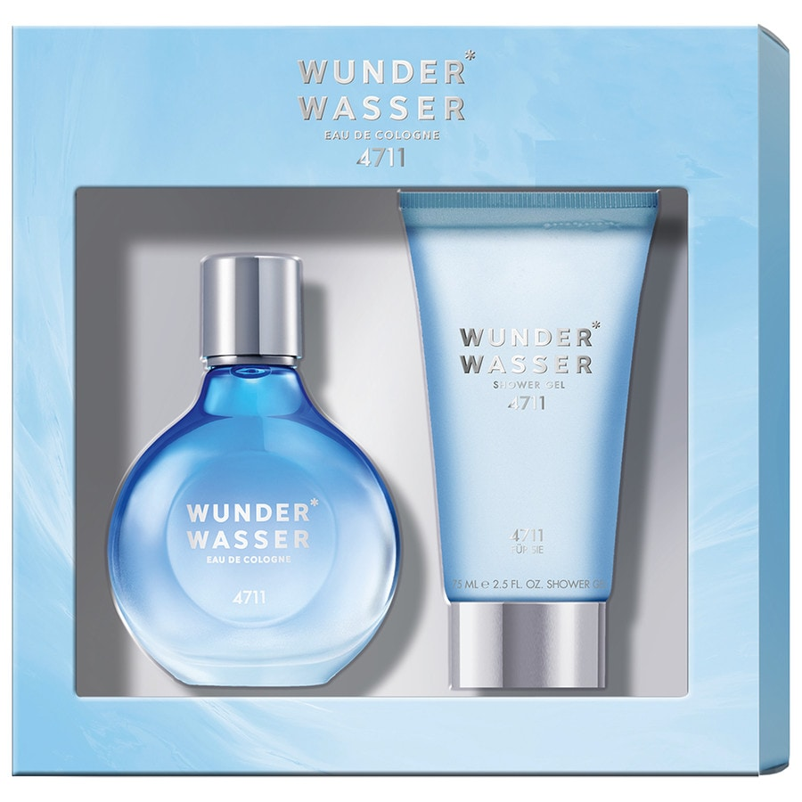 4711 Damendüfte Wunder Wasser Women Geschenkset Eau de Cologne Spray 50 ml + Shower Gel 75 ml 1 Stk.