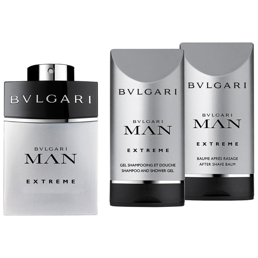 Bvlgari Man Extreme Set mit 2x Pflege 60ml + 75ml + 75ml