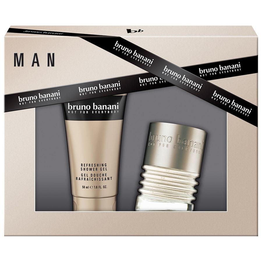 Bruno Banani Herrendüfte Man Geschenkset Eau de Toilette Spray 30 ml + Shower Gel 50 ml 1 Stk.