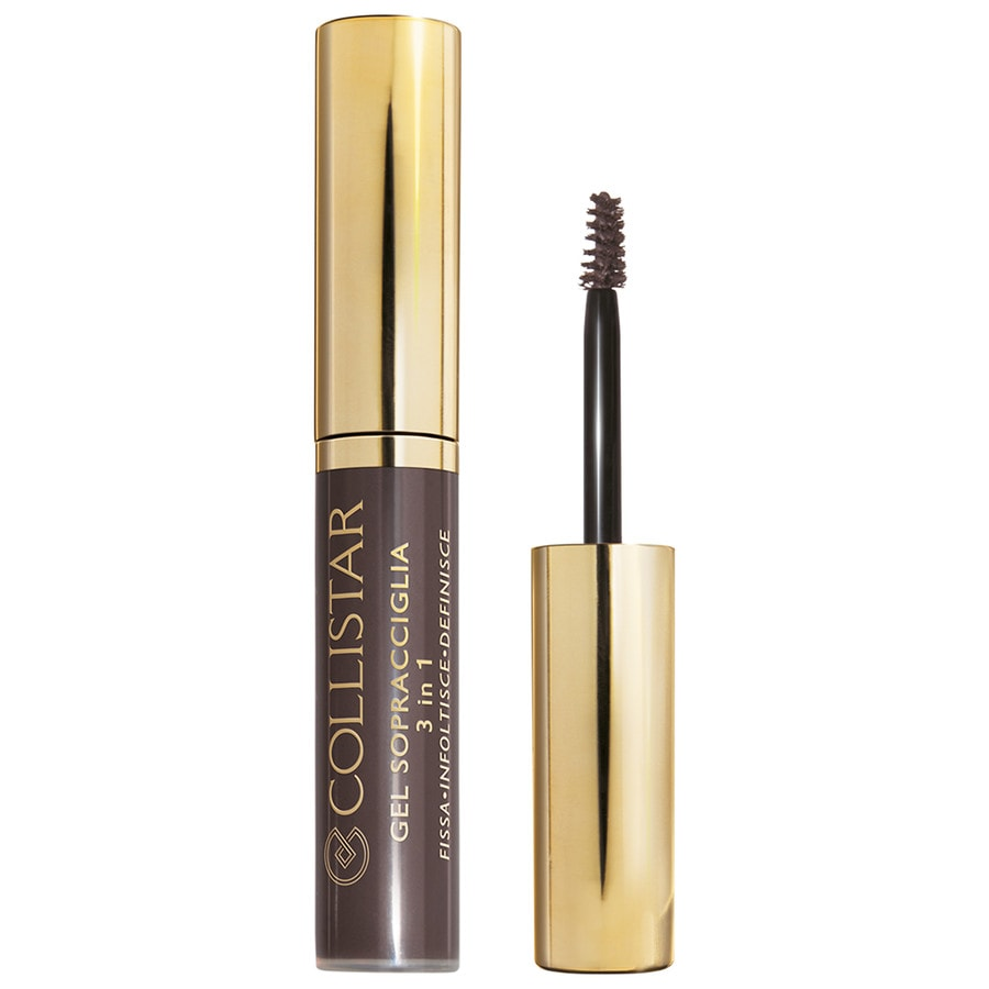 Collistar Make-up Augen Perfect Eyebrows Kit Eyebrow Gel 3 in 1 Nr. 3 Silvana Brunette + Eyebrow Pencil Defines 1 Stk.