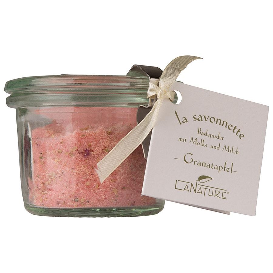 LaNature Granateple Badesalt med Granateple & Kronblader Bad 70.0 g