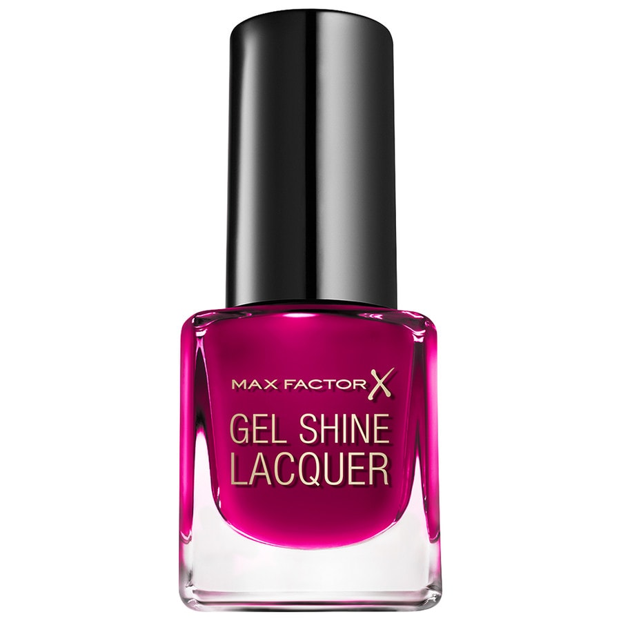 Max Factor Make-Up Nägel Mini Gel Shine Lacquer Nr. 55 Sparkling Berry 4,50 ml