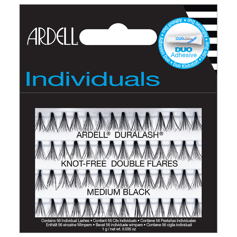 80aa787a0a4 Ardell Individuals Duralash Knot Free Double Flares Medium Black PRODUCT