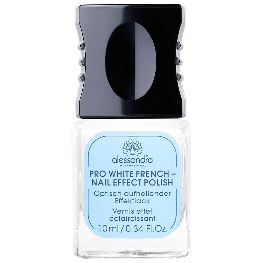 Alessandro Pflege Nail Spa Pro White French 10 ml