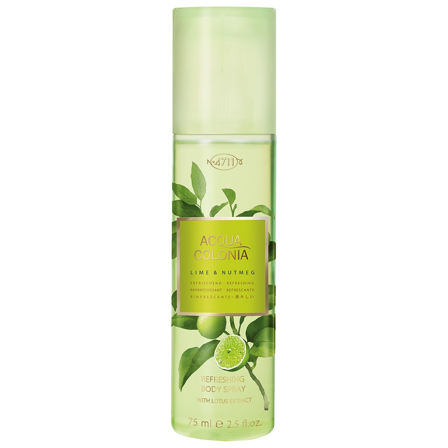 4711 Acqua Colonia Unisexdüfte Lime & Nutmeg Body Spray 75 ml
