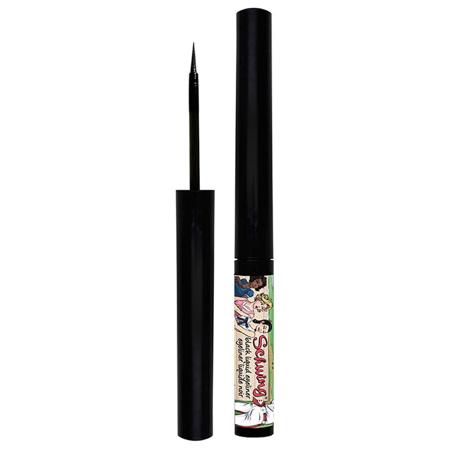 the Balm Schwing! Black liquid eyeliner