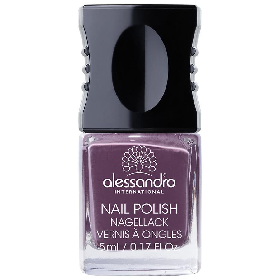 Alessandro Make-up Nagellack Nagellack Nr. 67 Dusty Purple 5 ml
