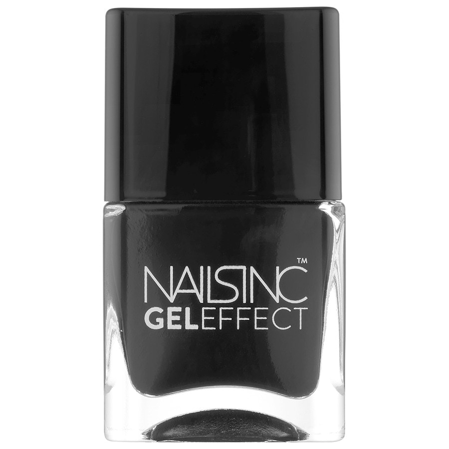 Nails Inc. Gel Effect Black Taxi Nagellack
