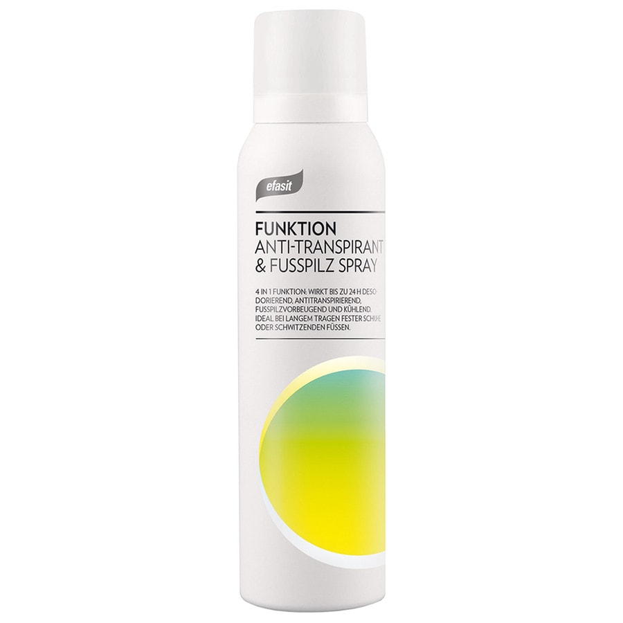 Antitranspirant Fußpilz Spray Fußspray 150 ml