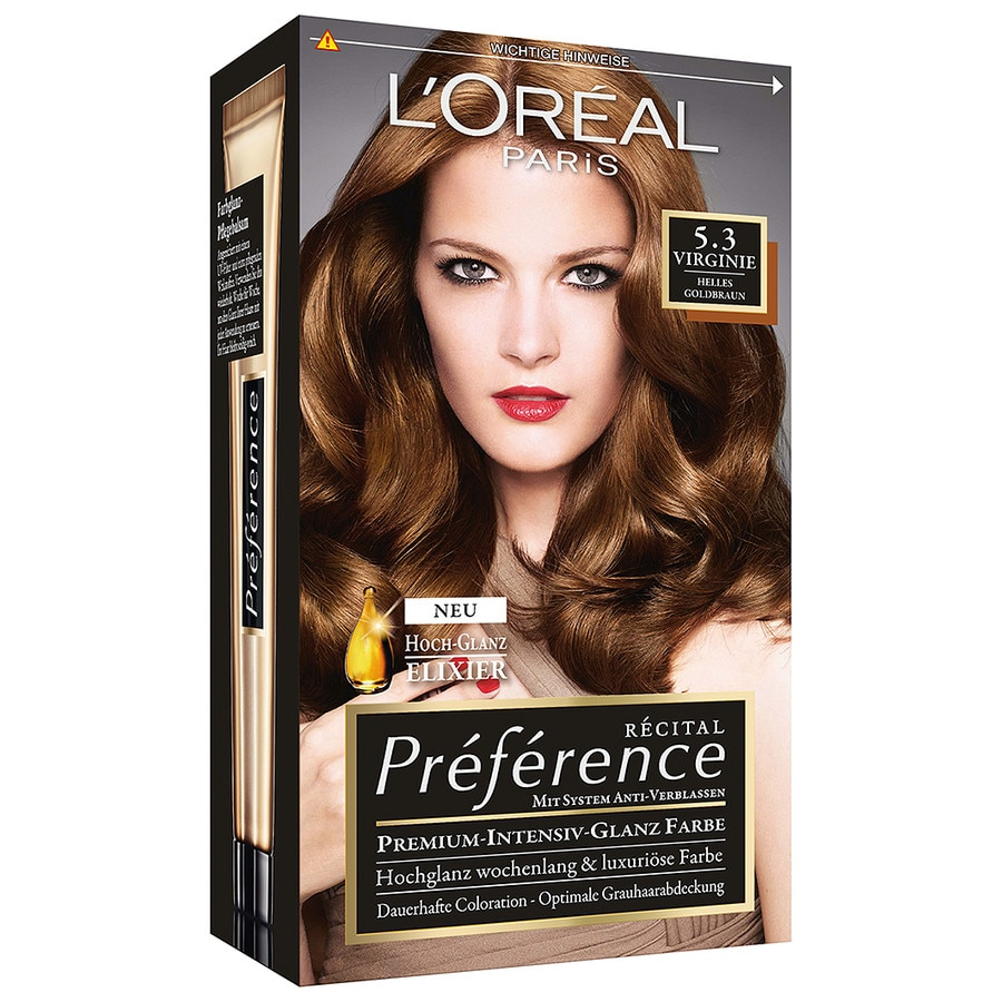 L´Oréal Paris Recital Preference Nr. 5.3 - Virginie Haarfarbe 1.0 st