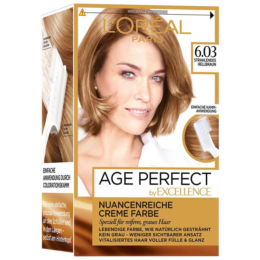 L´Oréal Paris Excellence Nr. 6.03 - Strahlendes Hellbraun Haarfarbe 1.0 st