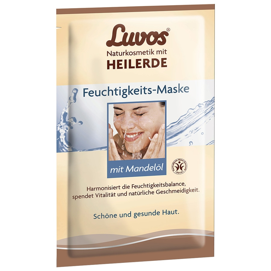 luvos naturkosmetik creme maske feuchtigkeit mit mandel l maske online kaufen bei. Black Bedroom Furniture Sets. Home Design Ideas