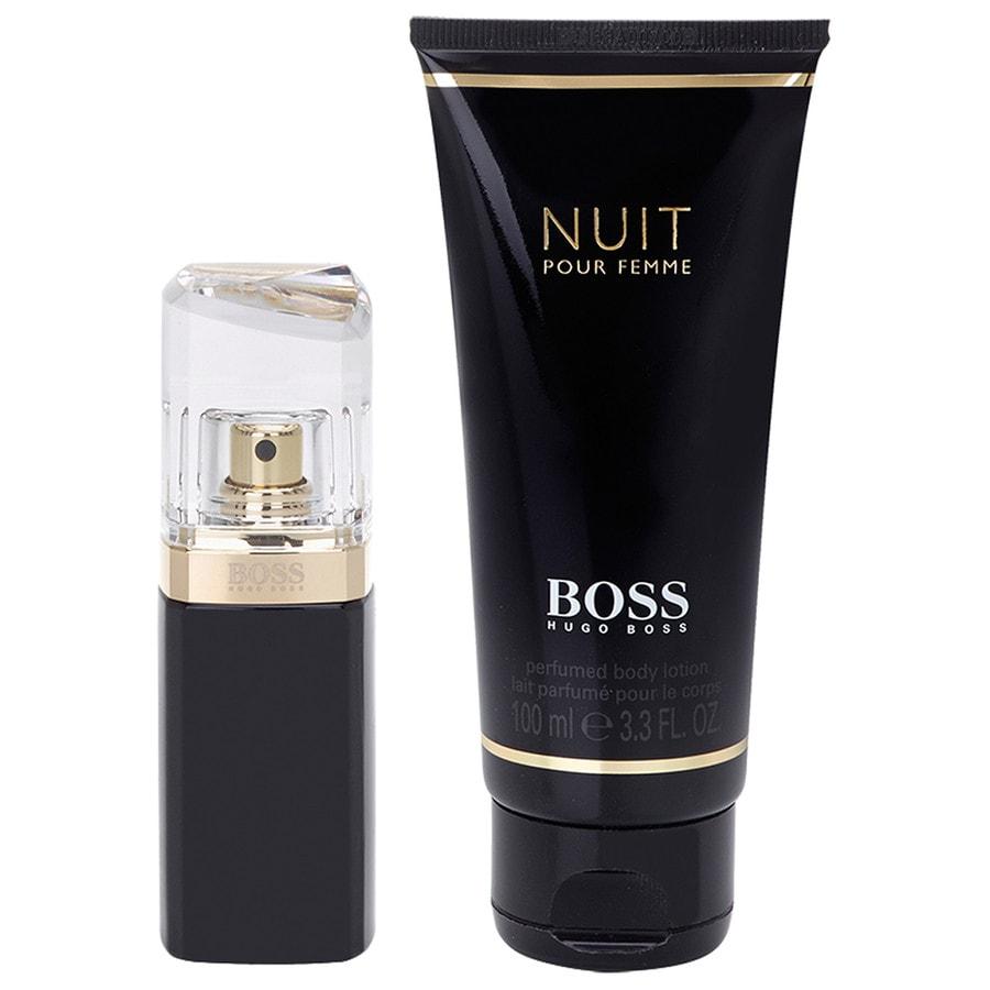 Hugo Boss Boss Black Damendüfte Boss Nuit Pour Femme Geschenkset Eau de Parfum Spray 30 ml + Body Lotion 100 ml 1 Stk.