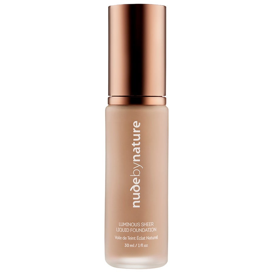 Nude by Nature Foundation N2 - WARM NUDE Foundation