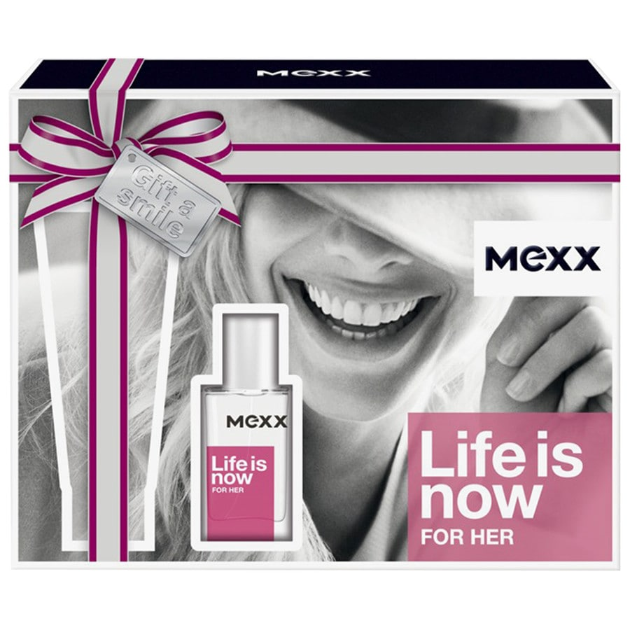 Mexx Damendüfte Life Is Now Woman Geschenkset Eau de Toilette Spray 15 ml + Body Lotion 50 ml 1 Stk.