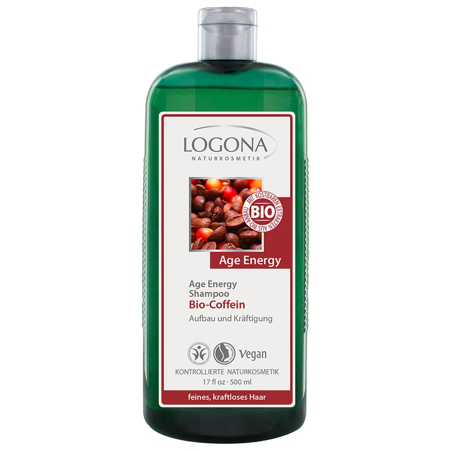 Logona Age Energy Bio-Coffein Goji Beere Haarshampoo