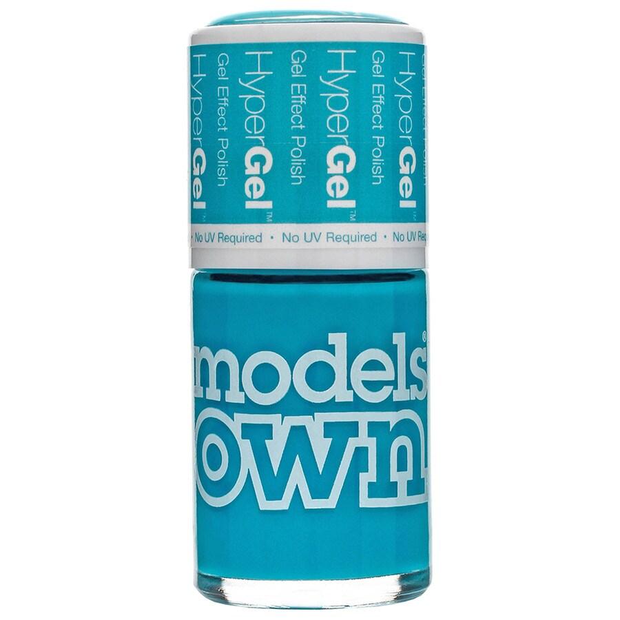 Models Own Gel Effect Polish Blue Glint Nagellack