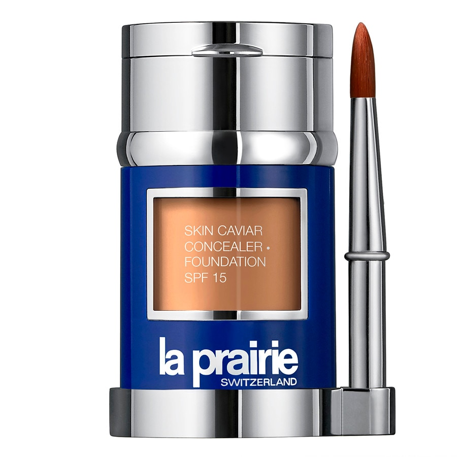 La Prairie Make-up Foundation Powder Skin Caviar Concealer Foundation Soleil Beige 32 g