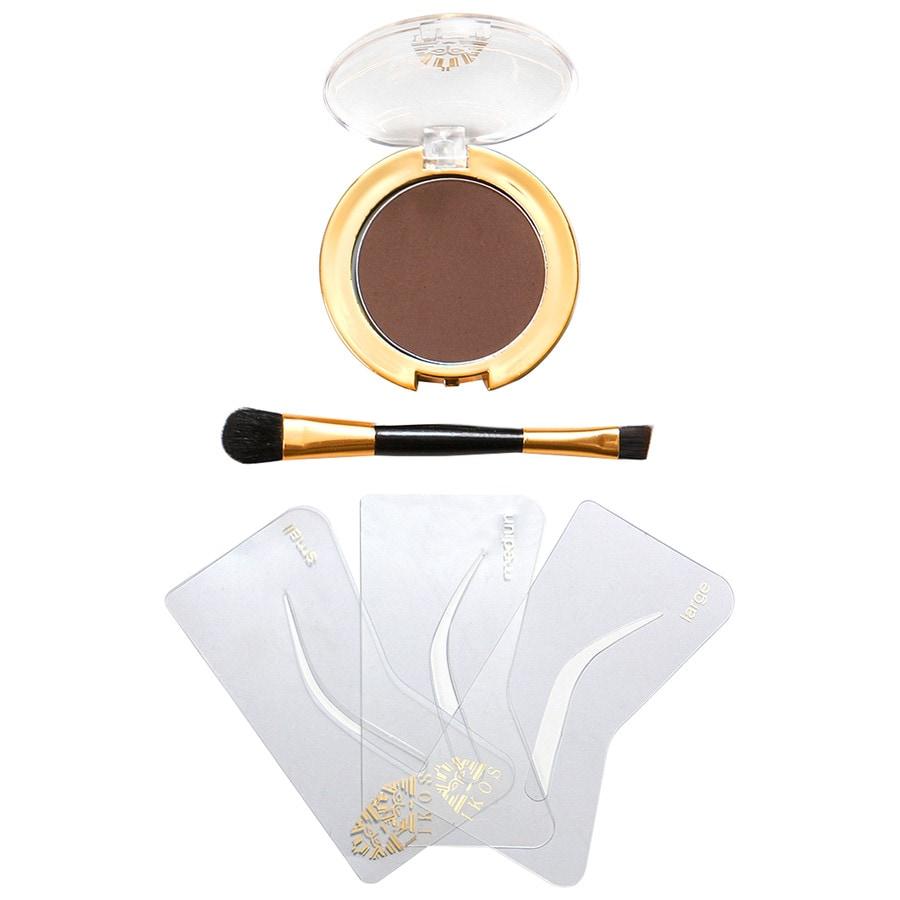IKOS Augenbrauen Braun-Schwarzhaarige Make-up Set