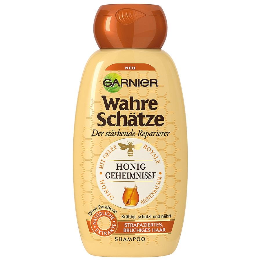 Garnier Wahre Schätze Honig Geheimnisse Shampoo, für strapaziertes, brüchiges Haar,