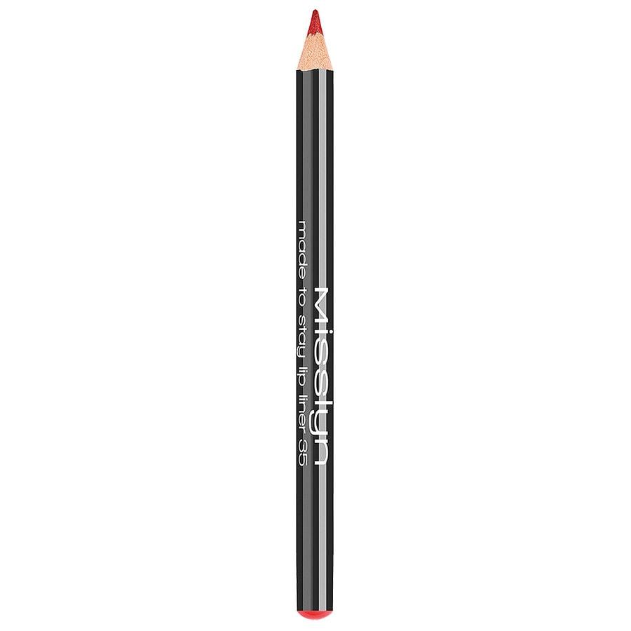 Misslyn Lippen Lipliner Made to Stay Lip Liner Nr. 35 Lip Vermillion