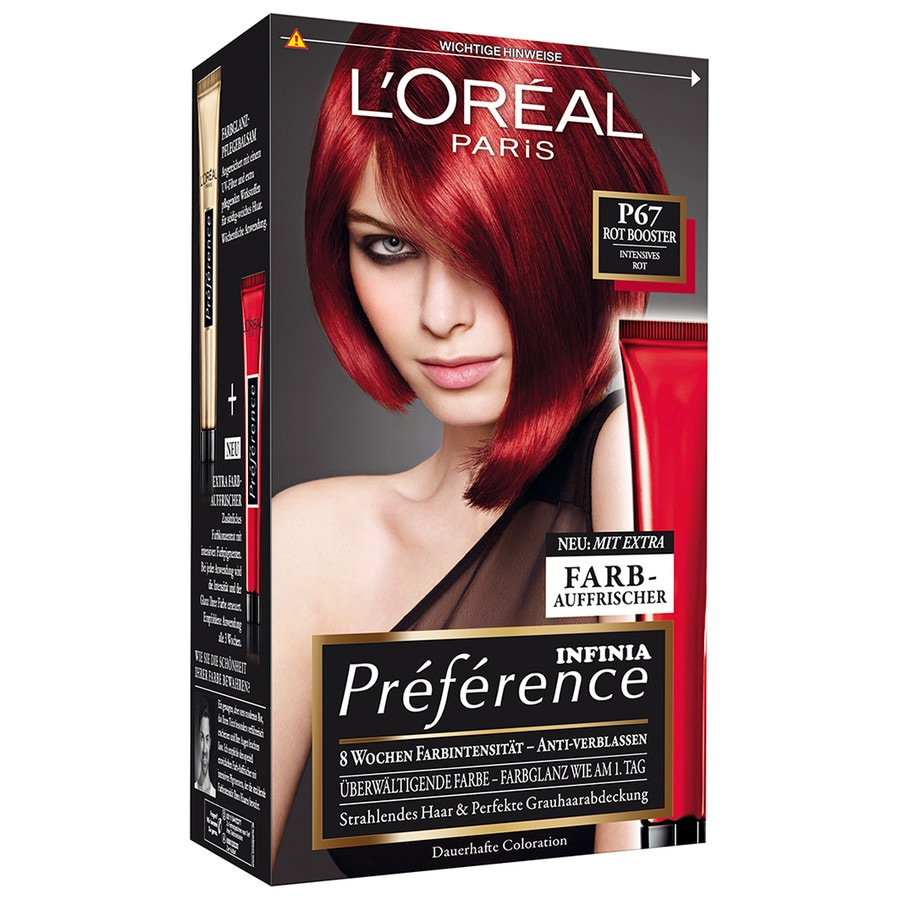 Loreal preference haarfarbe schwarz