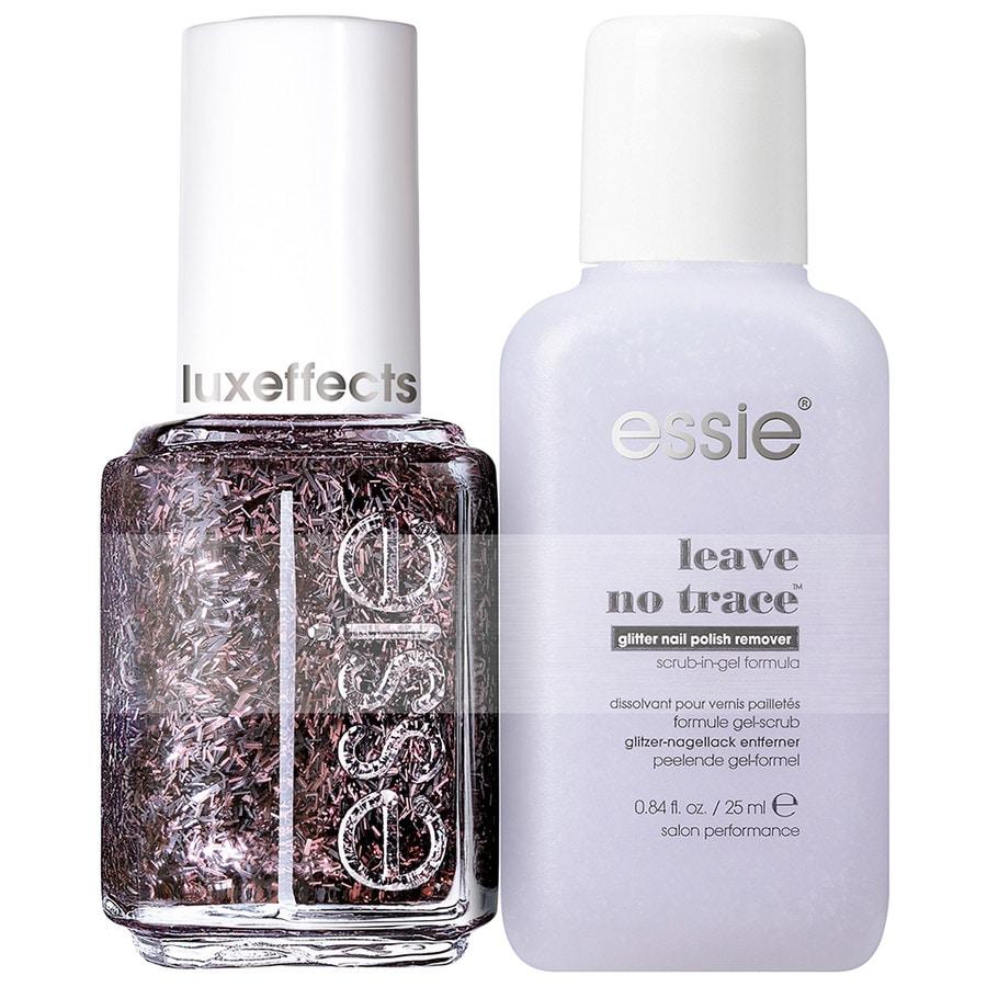 essie Coral- & Rottöne Nr. 384 - Fringe Factor + Mini Remover Nagellack