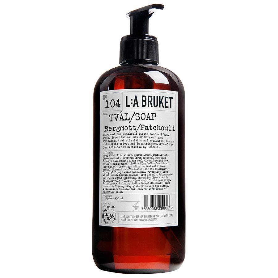 L:A Bruket Bergamot Patchouli No. 104 Flüssigseife